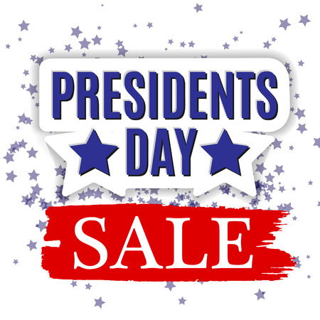 president's day: Presidents Day Vector Background Illustration