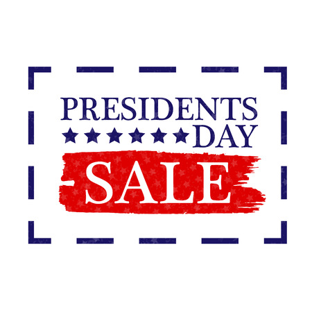 Presidents Day Sale Icon vector stock illustration