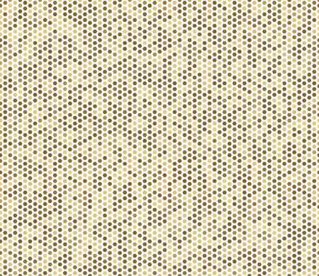 paper art projects: Seamless abstract mosaic background. Yellow, white colors. Hexagons geometric background. Design elements. Vector illustration