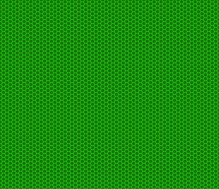 Vector modern seamless geometry pattern hexagon, light green on green abstract geometric background, trendy print, techno retro texture, hipster fashion design Illustration