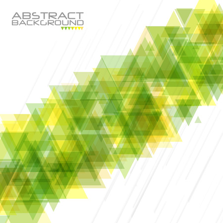 striated: Abstract geometric background. Modern overlapping triangles. Unusual color shapes for your message. Business or tech presentation, app cover template