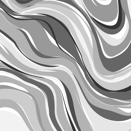 onyx: Creative art illustration. Vector image. Marbled surface. Beautiful unique handmade texture. Liquid paint. Painted waves. Unusual artistic background. Abstract black and white art.
