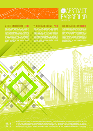 firms: Vector Business Abstract Design Background Template.