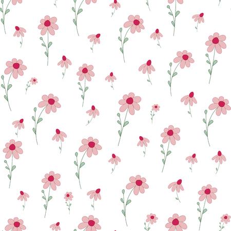 petites fleurs: Seamless avec de petites fleurs.