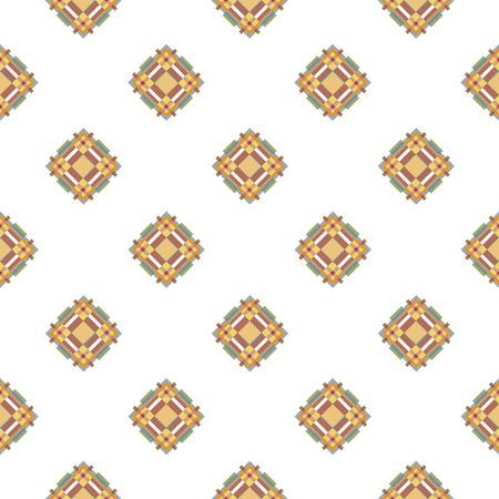 mens fashion: blue and beige fabric texture diagonal pattern seamless vector illustration. mens fashion design. Illustration