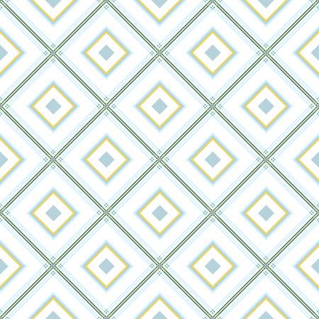 diagonale: Delicate romb geometric background pattern blue green white grey