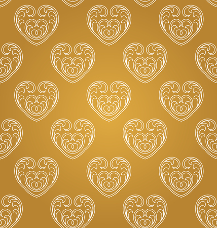 agleam: Arabic pattern gold style. Traditional east geometric decorative background