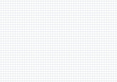 Modelo inconsútil del vector cuaderno de papel en una celda. Hoja de cuaderno en la textura. Patrón en una jaula.