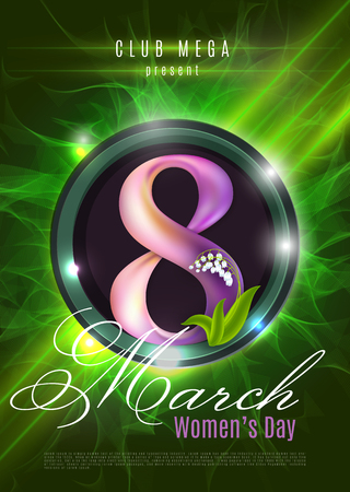 Womens Day Flyer Poster - Activity, Events, Celebration, Announcement Vector Background