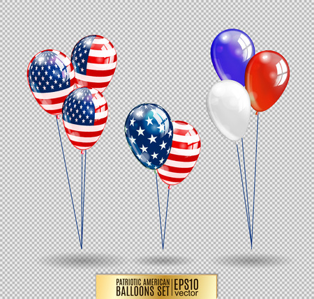 specially: US Patriotic balloons. Colored Balloons specially for the Fourth of July. Memorial Day. Martin Luther King Day. Country National Colors.