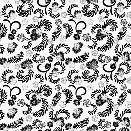 A simple floral pattern for wallpaper