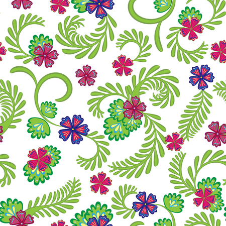 A simple floral pattern for wallpaper 版權商用圖片 - 100483136