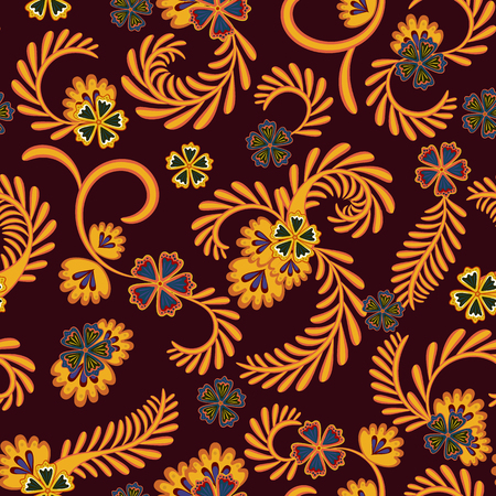 A simple floral pattern for wallpaper 版權商用圖片 - 100483140