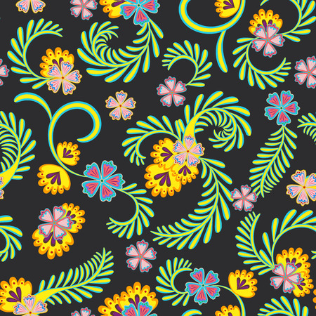 A simple floral pattern for wallpaper 版權商用圖片 - 100483143