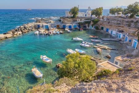 Mantrakia, Milos island, Cyclades, Greece