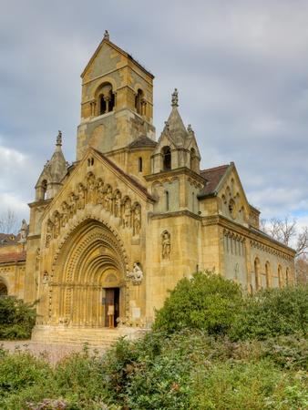 Church of Jak, Vajdahunyad castle, Budapest, Hungary Stock Photo - 13399448