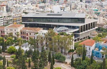 新アクロポリス博物館、アテネ、ギリシャ 写真素材