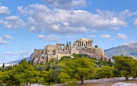 grecia antigua: Acr�polis, Atenas, Grecia