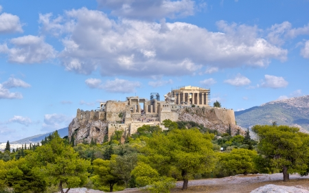 athena: Acropolis, Athens, Greece  Stock Photo