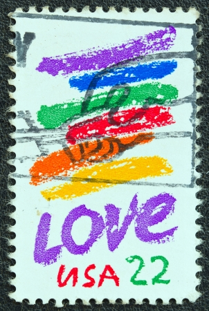 USA - CIRCA 1985: A stamp printed in USA from the