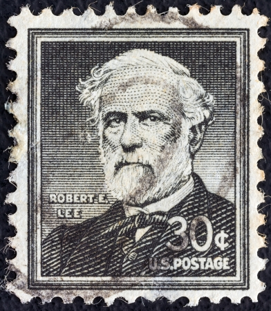 USA - CIRCA 1954: A stamp printed in USA from the