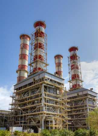 conventional: Natural gas power plant