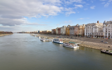 Danube and Budapest view, Hungary Stock Photo - 15328643