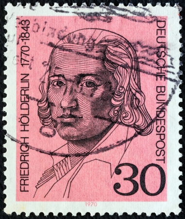 GERMANY - CIRCA 1970: A stamp printed in Germany from the