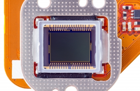 Digital camera sensor isolated