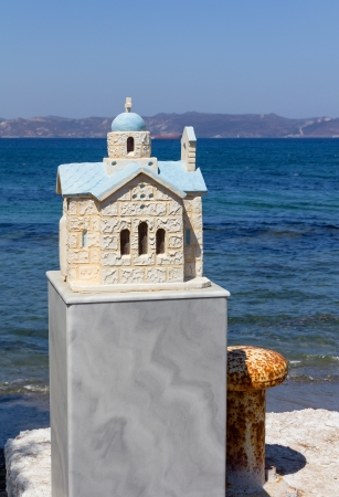 Little memorial chapel in Greece  Stock Photo - 16214252