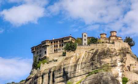 Varlaam monastery, Meteora, Greece photo