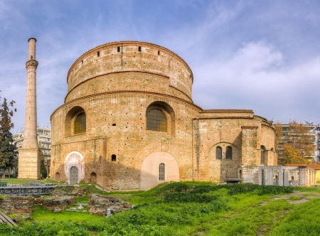 ガレリウス、テッサロニキ、マケドニア、ギリシャの円形建築