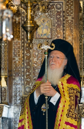 constantinople: Bartholomew I, Ecumenical Patriarch of Constantinople