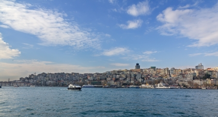 View of Beyoglu district, Istanbul, Turkey Stock Photo - 17142166