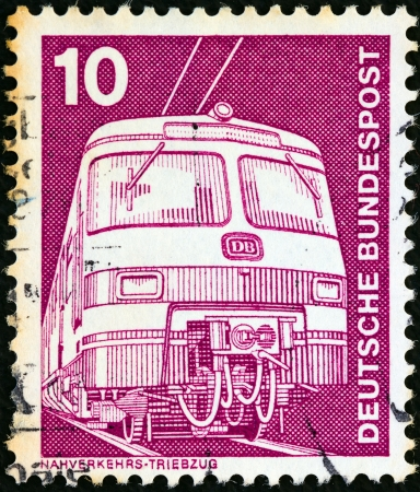 GERMANY - CIRCA 1975: A stamp printed in Germany from the
