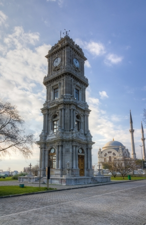 Dolmabahce Clock Tower, Istanbul, Turkey Stock Photo - 17448276