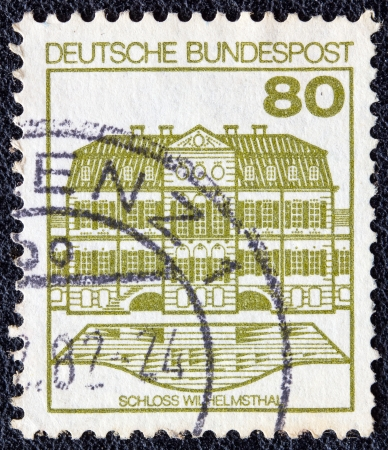 GERMANY - CIRCA 1977: A stamp printed in Germany from the