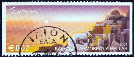 GREECE - CIRCA 2004: A stamp printed in Greece from the