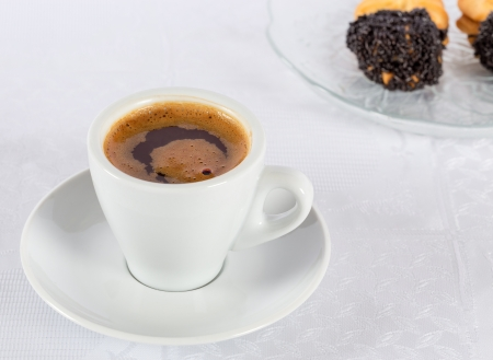 Turkish or Greek coffee photo