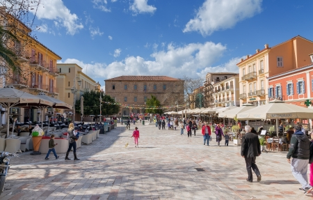 nafplio: Plateia Syntagmatos (Constitution Square), Nafplio, Greece
