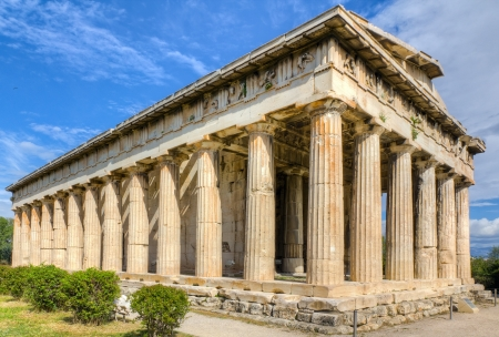 Temple of Hephaestus, Athens, Greece Stock Photo - 18496714