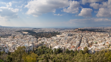 Athens panorama, Greece photo