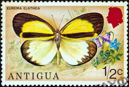ANTIGUA - CIRCA 1975: A stamp printed in Antigua from the