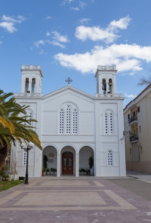 nauplio: Saint Nicholas church, Nafplio, Greece Stock Photo
