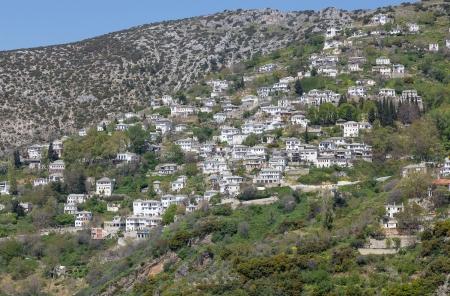 thessalia: View of the picturesque village of Makrinitsa, Pelio, Greece