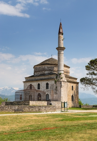 Fethiye Mosque with the Tomb of Ali Pasha in the foreground, Ioannina, Greece photo