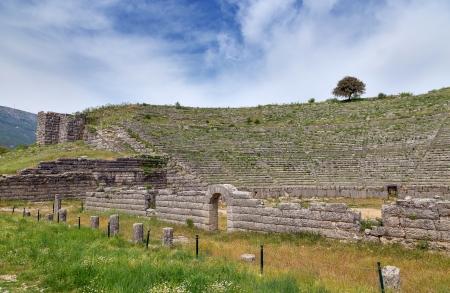 teatro antico: Antico teatro di Dodoni, Epiro, Grecia