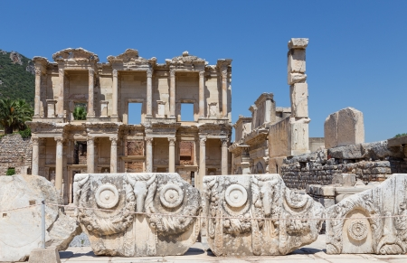 Library of Celsus, Ephesus, Turkey photo