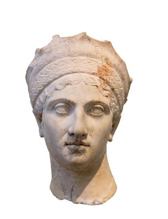 ローマ皇帝トラヤヌスの皇后 Plautina ヘッド、妻
