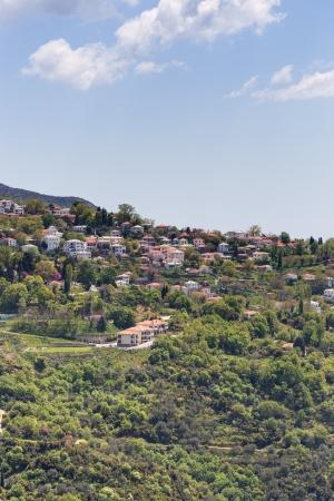 thessalia: View of Portaria village, Pelio, Greece
